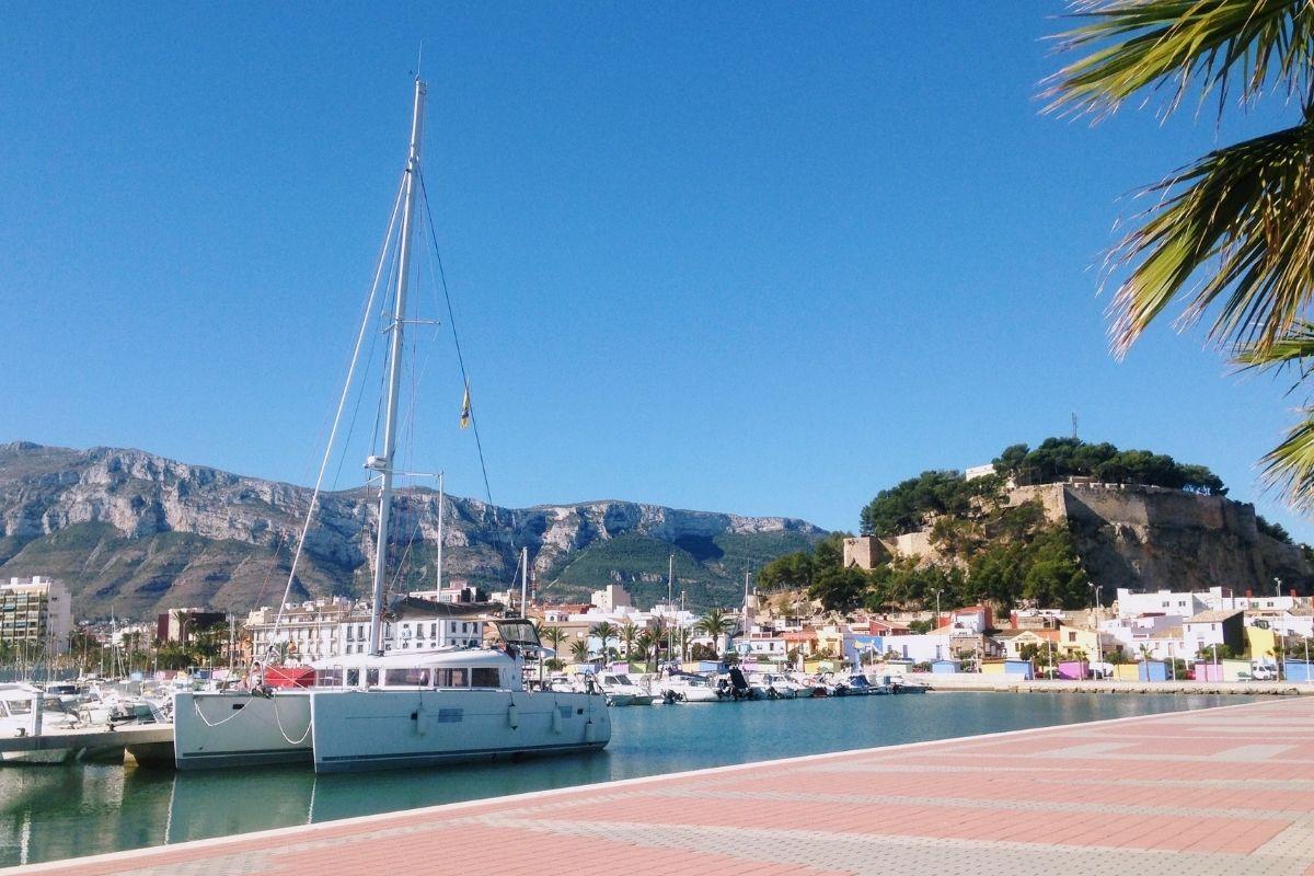 Harbour in Denia, Spain