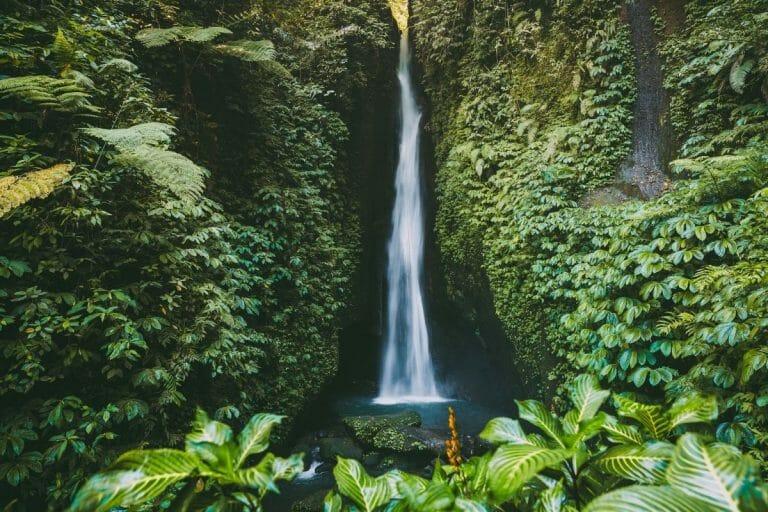 Leke Leke Waterfall in Bali