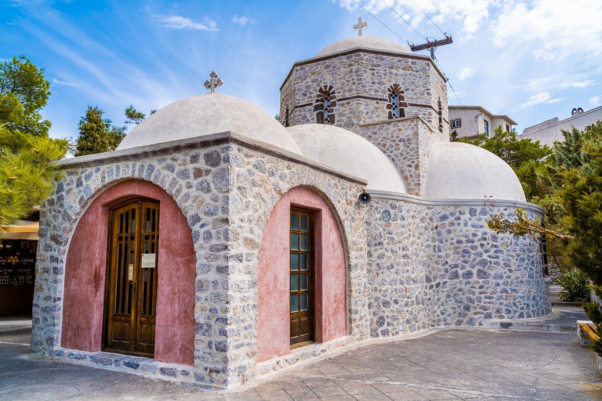 Monastery of Profitis Ilias Santorini 1a