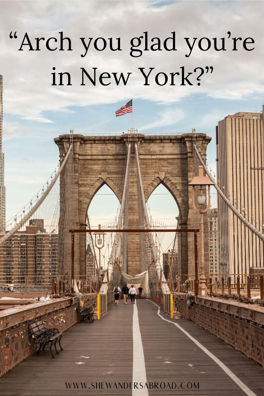 Short New York puns for Instagram