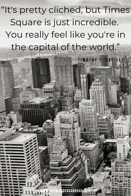Powerful New York captions for Instagram