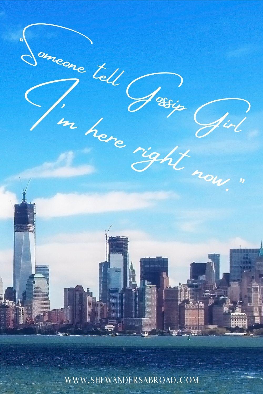 Funny New York Instagram captions