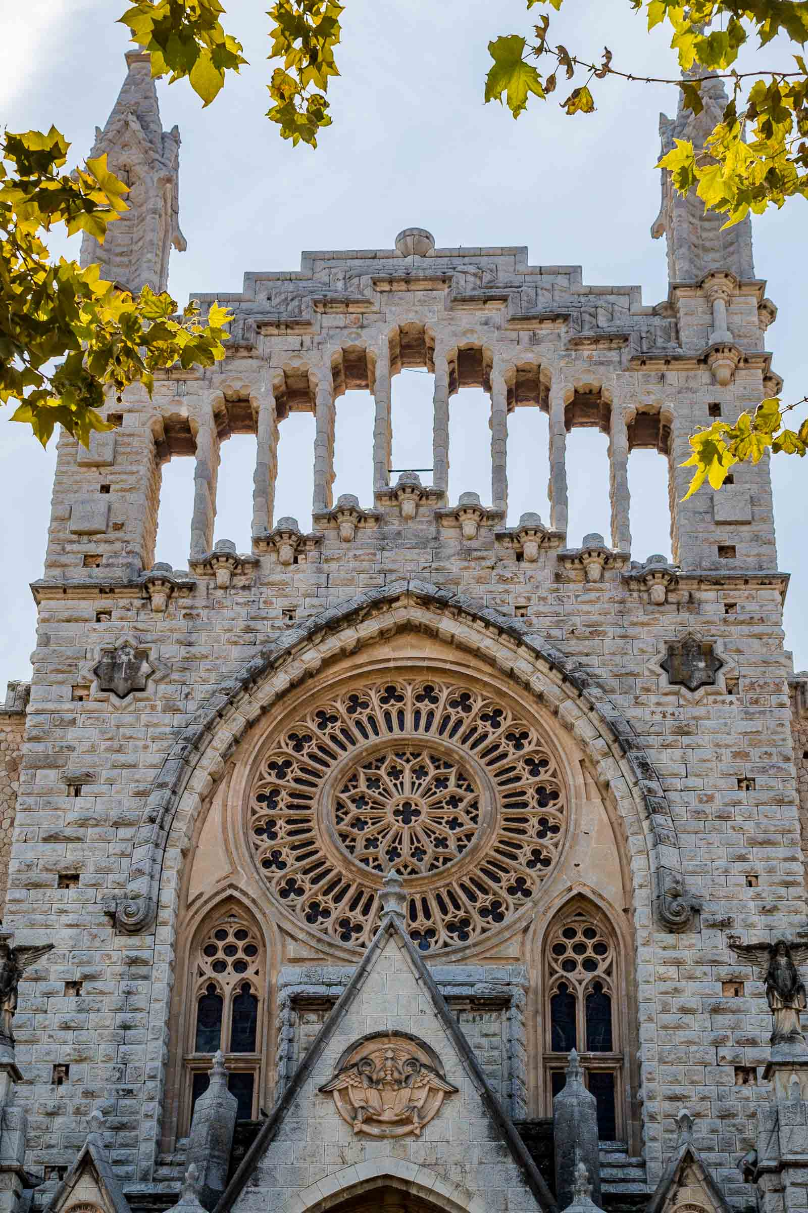 Soller Cathedral in Mallorca