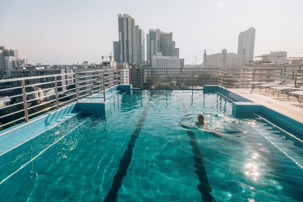 Infinity Pool in Bangkok